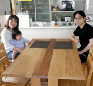 ダイニングテーブル写真