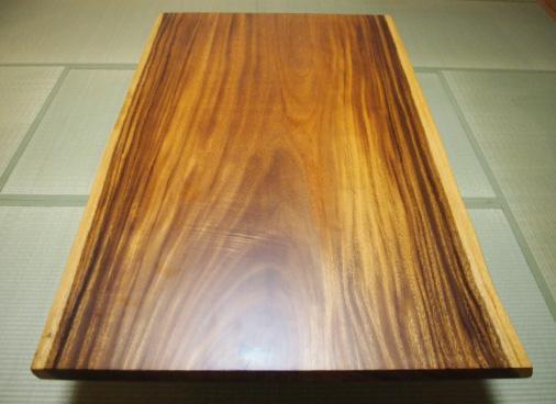 モンキーポッド 一枚板テーブル写真2